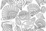 Coloring Pages for Intermediate Students these Zentangle Seashells are Part Of A Fun Coloring Page