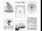 Coloring Pages for Intermediate Students Wild Animal Coloring Page Pack 6 Pages