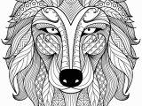 Coloring Pages for Ipad Pro the Wolf Zentangle Coloring Pages to View Printable Version or