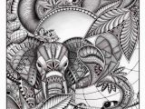 Coloring Pages for Ipad Pro This Zentangle Doodle Art is originally Drawn with