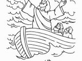 Coloring Pages for Jesus Calms the Storm Clip Art Jesus Calms the Storm