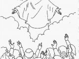 Coloring Pages for Jesus Resurrection ascension Of Jesus Christ Coloring Pages