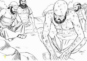 Coloring Pages for Job In the Bible Bible Coloring Pages Old Testament