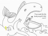 Coloring Pages for Jonah and the Whale Jonah Coloring Page Free Download