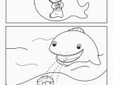 Coloring Pages for Jonah and the Whale Jonah In the Sea with A Whale In Jonah and the Whale