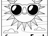 Coloring Pages for Kids for Summer Free Printable Coloring Page Summer Fun