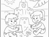 Coloring Pages for Kids for Summer Fun at the Beach On Crayola