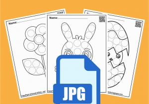 Coloring Pages for Kids Spring Set Of Spring Dot Marker Free Coloring Pages