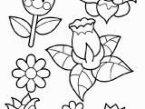 Coloring Pages for Kids Spring Spring Flowers Coloring Page