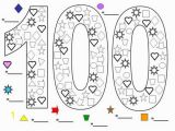 Coloring Pages for Last Day Of School Printable 100 Days School Coloring Pages