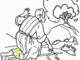 Coloring Pages for Moses and the Burning Bush 10 Best Burning Bush Craft Images