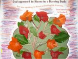 Coloring Pages for Moses and the Burning Bush Crafts for Moses and the Burning Bush Bible Crafts and