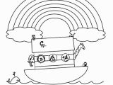 Coloring Pages for Noah S Ark Beautiful Noah and the Ark Coloring Page Encoloring