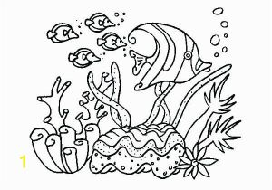 Coloring Pages for Ocean Animals Coral Coloring Pages Kids for Girls In Snazzy Page Printable