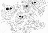 Coloring Pages for Older Students Coloring Book Adult Older Children Coloring Page Cute Owl