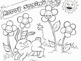 Coloring Pages for Preschoolers Spring Spring Coloring Pages Free