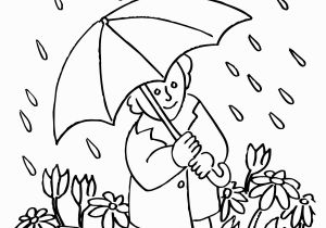 Coloring Pages for Rainy Days Free Rain Clipart Black and White Download Free Clip Art