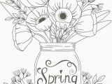 Coloring Pages for Spring Flowers Pin On Favoritas