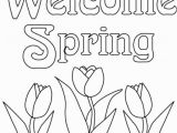 Coloring Pages for Spring Flowers Printable Spring Flower Coloring Pages