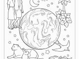 Coloring Pages for Sunday School Stage 1 Lesson 1 Creation