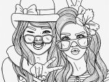 Coloring Pages for Teenage Girl Online Bestie
