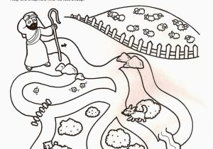 Coloring Pages for the Lost Sheep Parable 21 Parable the Lost Sheep Coloring Page In 2020