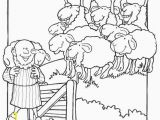 Coloring Pages for the Lost Sheep Parable 32 Lost Sheep Coloring Page In 2020