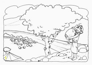 Coloring Pages for the Lost Sheep Parable Lost Sheep Coloring Pages