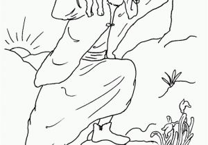 Coloring Pages for the Lost Sheep Parable Parable Lost Sheep Coloring Pages Coloring Home