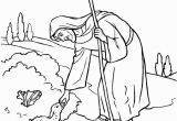 Coloring Pages for the Lost Sheep Parable the Parable Of the Lost Sheep 1
