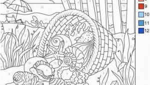 Coloring Pages for Under the Sea Download This Free Color by Number Page From Favoreads Get