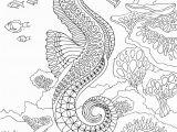 Coloring Pages for Under the Sea Seahorse Pdf Zentangle Coloring Page therapy Coloring