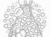 Coloring Pages for Valentines Cards Habit Tracker