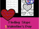 Coloring Pages for Valentines Day Finding Slope Valentine S Day Coloring Page by Teacher Twins