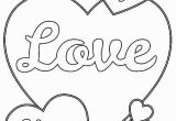Coloring Pages for Valentines Day I Love You Heart Coloring Pages with Images