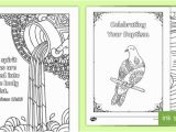 Coloring Pages for Visually Impaired Baptism Mindfulness Colouring Pages Teacher Made