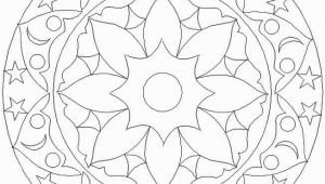 Coloring Pages for Visually Impaired Coloring Pages Special Mandala 158 Free Sample