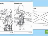 Coloring Pages for Visually Impaired Saint andrew S Day Scottish Colouring Pages Scottish