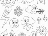 Coloring Pages for Weather Symbols New Coloring Free Coloring Pages Weather
