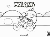 Coloring Pages for Young Kids Molang Colouring Page 2