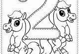 Coloring Pages for Young toddlers Number 2 Preschool Printables Free Worksheets and