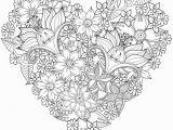 Coloring Pages for Your Best Friend Herz Sehr Schwierig Blumen Färben St Valentin – Valentines