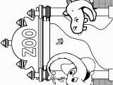 Coloring Pages for Zoo Animals Malvorlagen Im Zoo Ausmalbilder Zootiere Tiere Zootiere