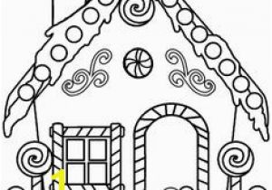 Coloring Pages Gingerbread House Christmas Gingerbread Man Coloring Pages