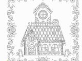 Coloring Pages Gingerbread Houses Printable Amazon Johanna S Christmas A Festive Coloring Book