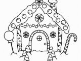 Coloring Pages Gingerbread Houses Printable Free Printable Gingerbread House Coloring Pages for the