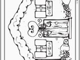 Coloring Pages Gingerbread Houses Printable Gingerbread House Coloring Page Luxury 42 Adult Coloring