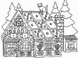 Coloring Pages Gingerbread Houses Printable Incredible Free Adult Coloring Sheets Picolour