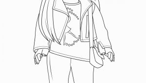 Coloring Pages Girl American Girl Coloring Pages