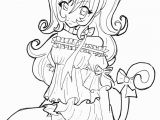 Coloring Pages Girl Anime Girls Coloring Pages
